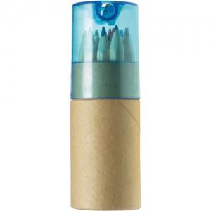 Tube cartonné de 12 crayons par Stimage