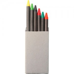 Set de 6 crayons gras. par Stimage