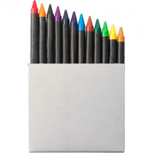 Set de 12 crayons gras. par Stimage