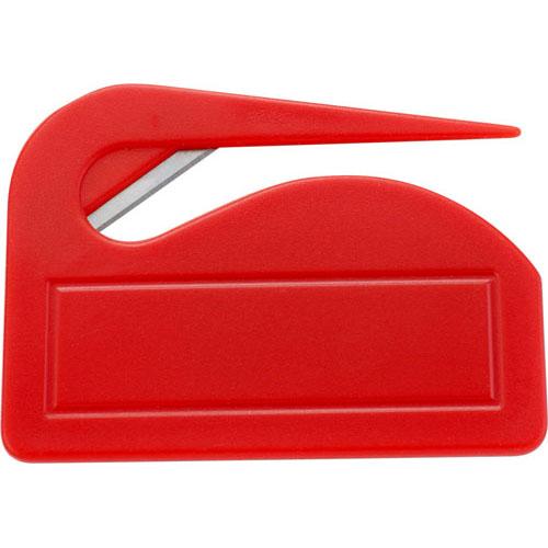 Ouvre-lettre en plastique.