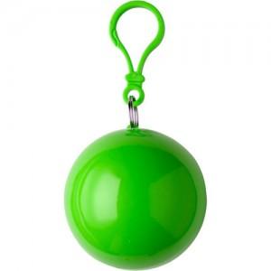 Etui boule contenant un poncho