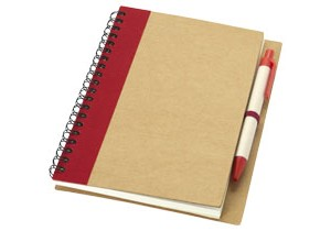 Carnet de notes avec un stylo Priestly personnalisable Bullet