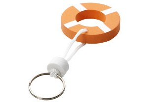 Porte-clés flotteur personnalisable Bullet