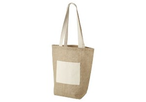 Sac shopping jute Calcutta personnalisable Bullet