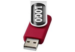 Clé USB Rotative avec doming personnalisable Bullet