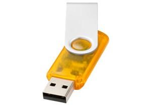 Clé USB Rotative translucide personnalisable Bullet