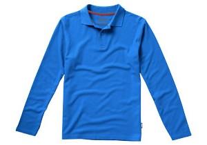 Polo manches longues Point personnalisable Slazenger