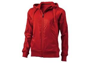 Sweater zippé à capuche Fraser Femme personnalisable Elevate