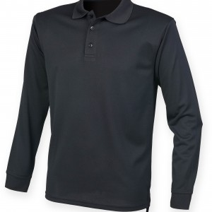 Men's Long Sleeved Cool Plus® Polo