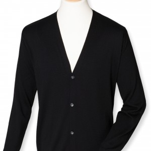 MEN'S V BUTTON CARDIGAN
