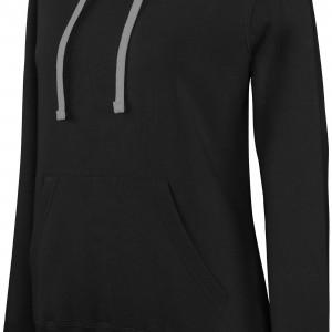 Sweat-shirt capuche contrastée femme personnalisé avec Stimage's