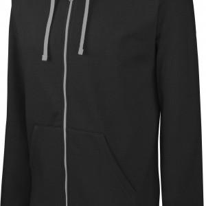 Sweat-shirt zippé capuche contrastée personnalisé avec Stimage's