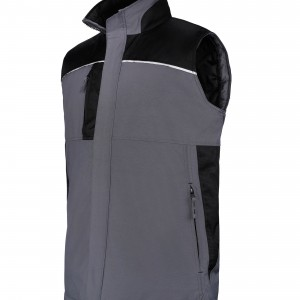 Bodywarmer workwear matelassé personnalisé avec Stimage's