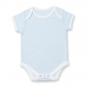 CONTRAST BABY BODYSUIT