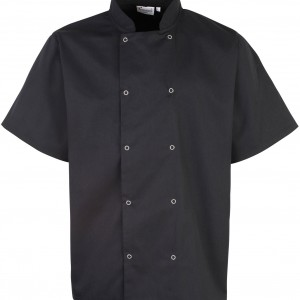 STUDDED FRONT CHEF'S JACKET