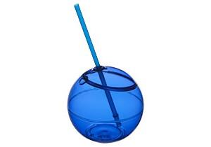 Ballon Fiesta avec paille personnalisable Bullet