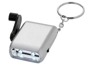 Lampe dynamo porte-clés Carina personnalisable Bullet
