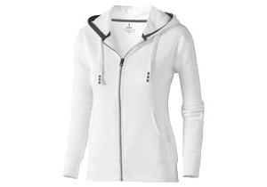 Sweater capuche full zip Femme Arora personnalisable Elevate