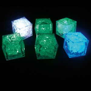 GLACON LUMINEUX CLIGNOTANT - Vert - Bleu sur mesure