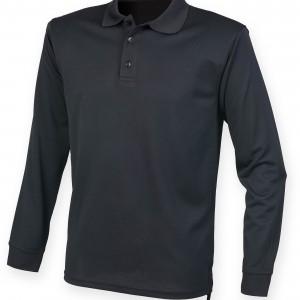 Men's Long Sleeved Cool Plus® Polo
