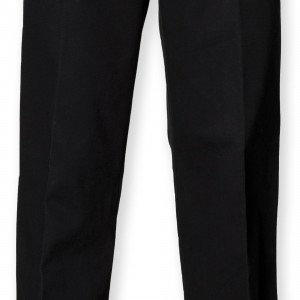 PLEAT CHINO TROUSERS