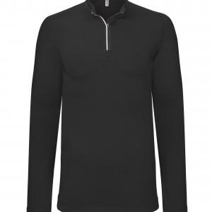 T-Shirt running 1/4 zip manches longues personnalisé avec Stimage's