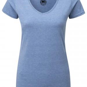 T-shirt HD Sublimable Femme Col V personnalisé avec Stimage's