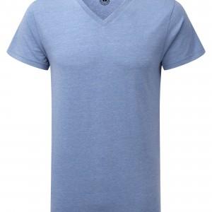 T-shirt HD Sublimable Homme Col V personnalisé avec Stimage's
