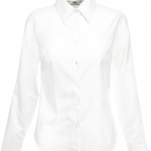 LADY FIT OXFORD SHIRT LONG SLEEVES (65-002-0)